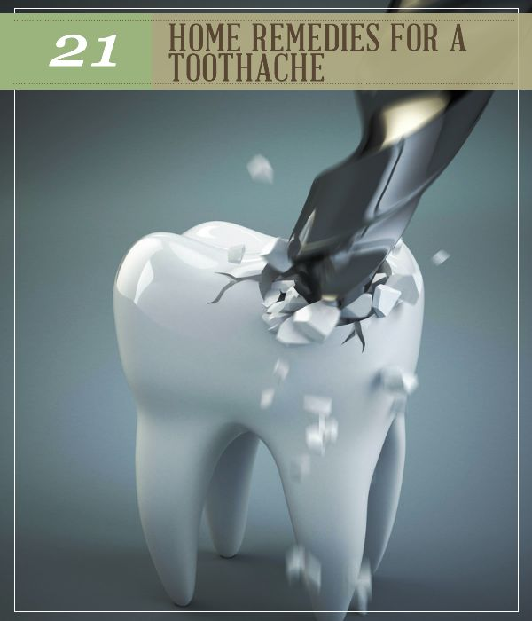 21 Home Remedies for a Toothache