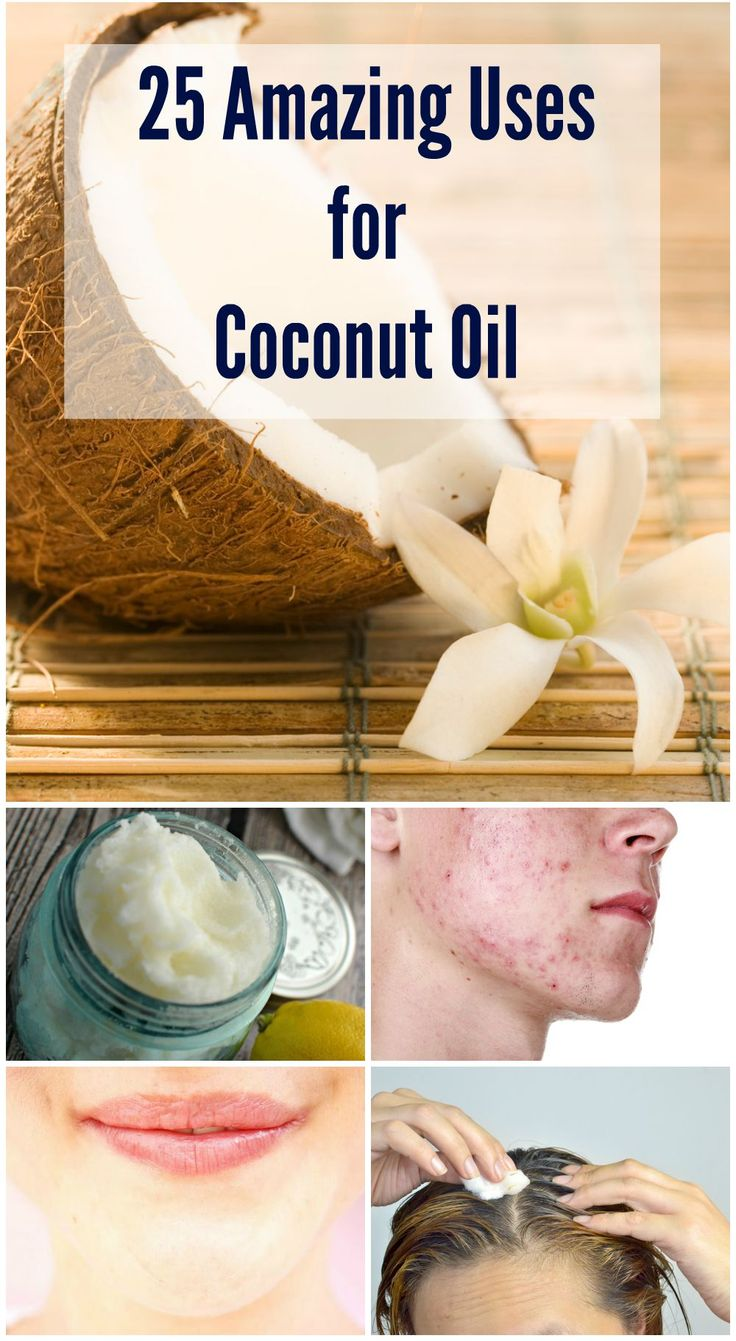 25 Amazing Uses for Coconut Oil