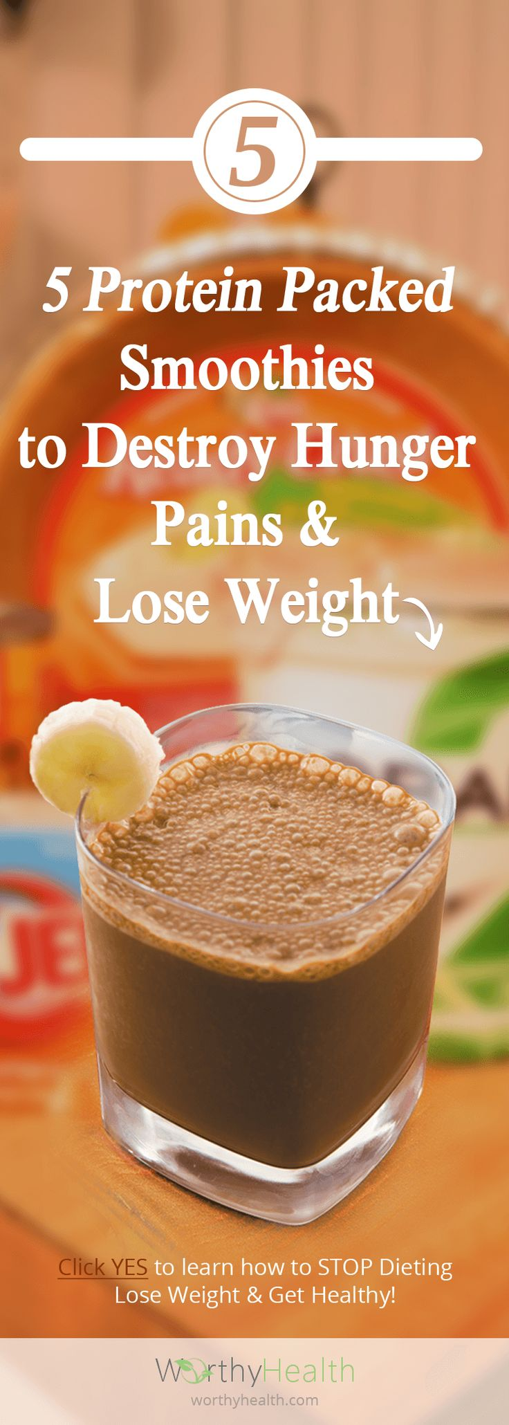 5 Protein Packed Smoothies to Destroy Hunger Pains and Lose Weight