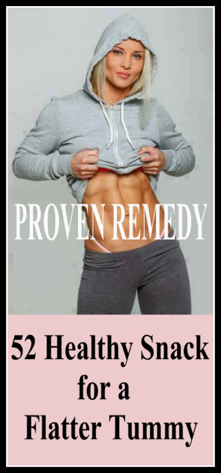 52 Healthy Snack for a Flatter Tummy