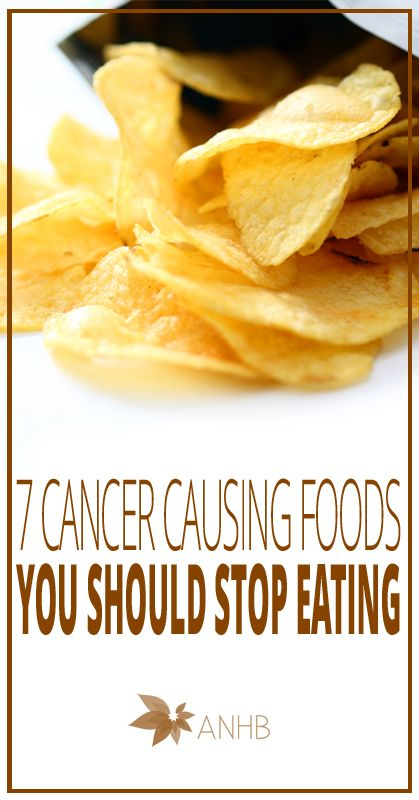 7 Cancer Causing Foods You Should Stop Eating