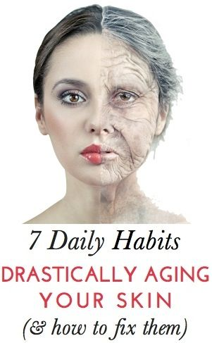 7 daily habits that are aging your skin; what to avoid doing to look younger