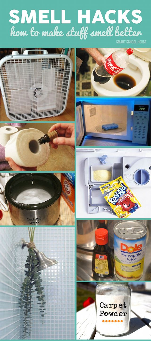 DIY ideas in your home to banish the gross smells