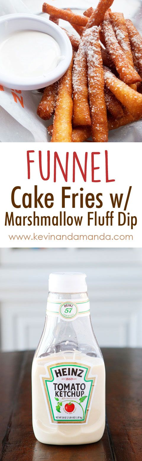 Funnel Cake Fries