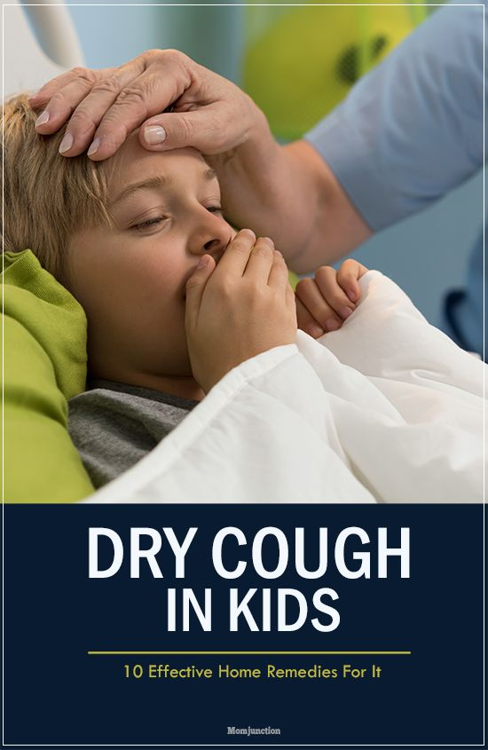 10 Effective Home Remedies For Dry Cough In Kids