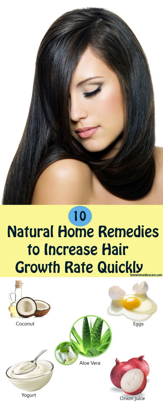 10 Home Remedies to Increase Hair Growth Rate Quickly
