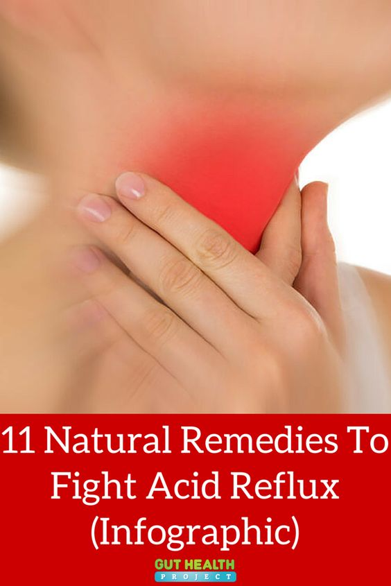 11 Natural Remedies To Fight Acid Reflux (Infographic)