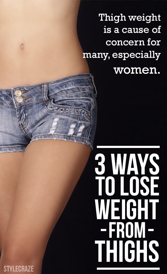 3 Simple Ways To Lose Weight From Thighs