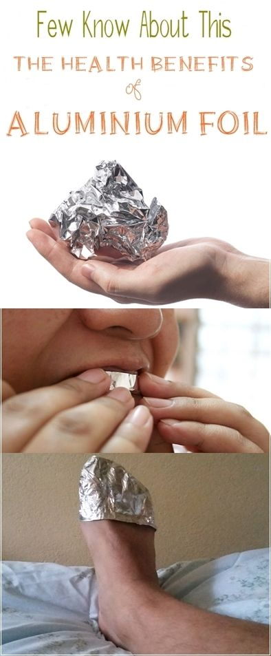 Few Know About This. The Health Benefits of Aluminium Foil